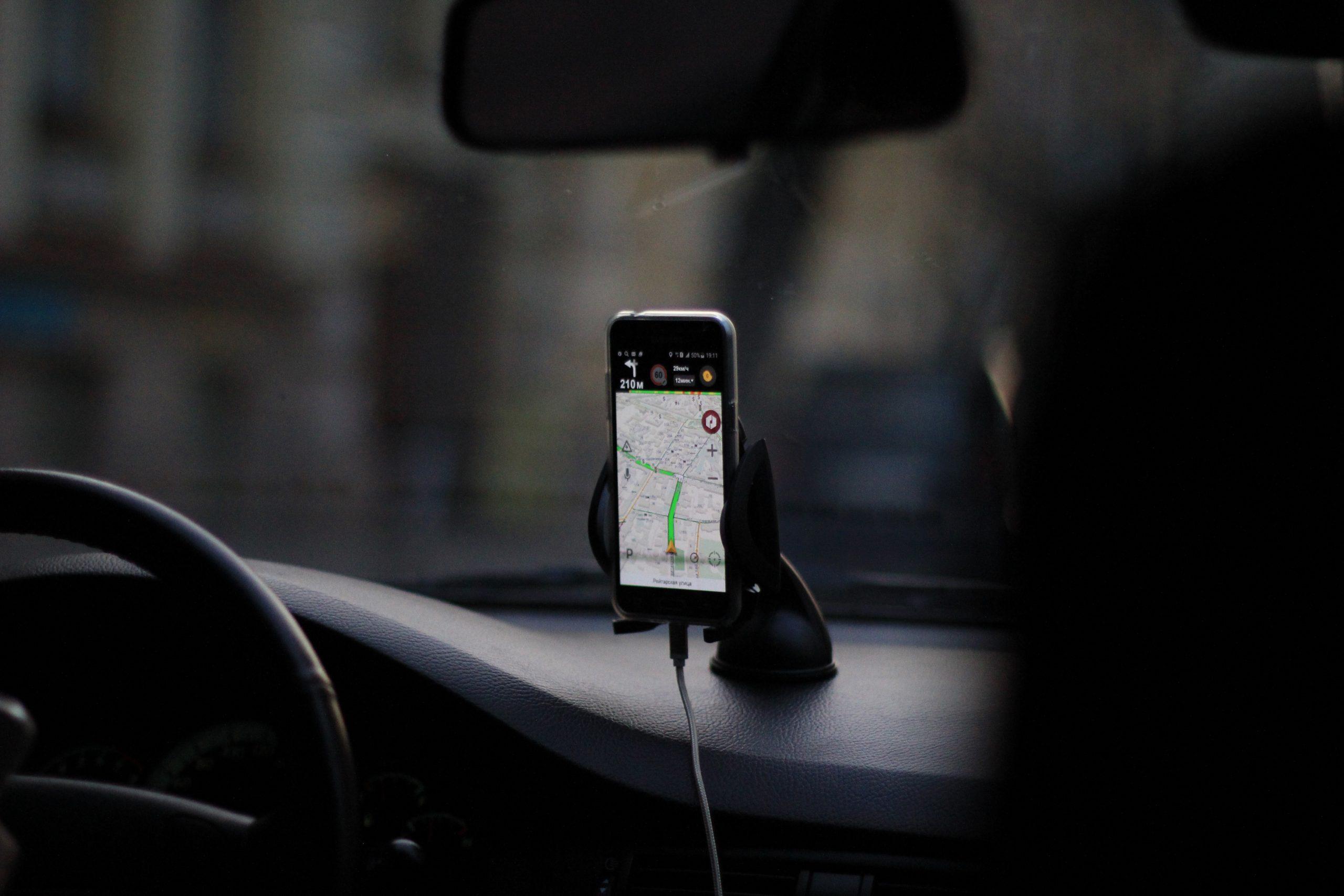 Le support de téléphone pour voiture : très pratique pour s'organiser en voiture